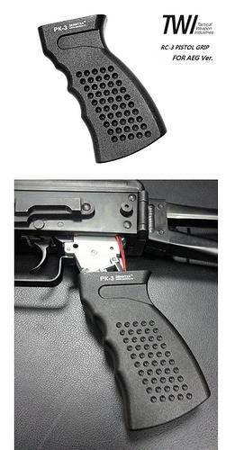 TWI RC-3 Alumi Pistol AEG Grip a