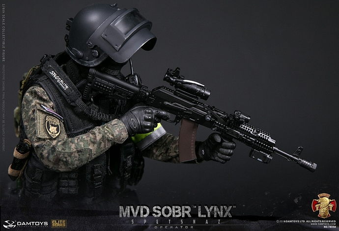 DAMTOYS 78058 Russian MVD SOBR LYNX - New Releases - Armed