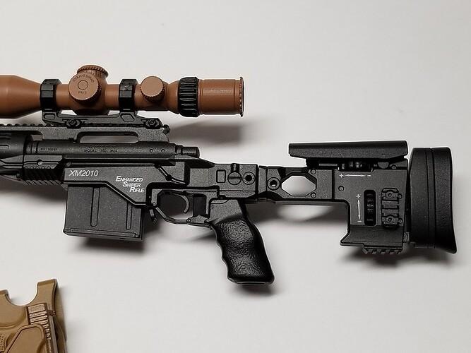 E&S Sniper XM2010 and Glock 2 s