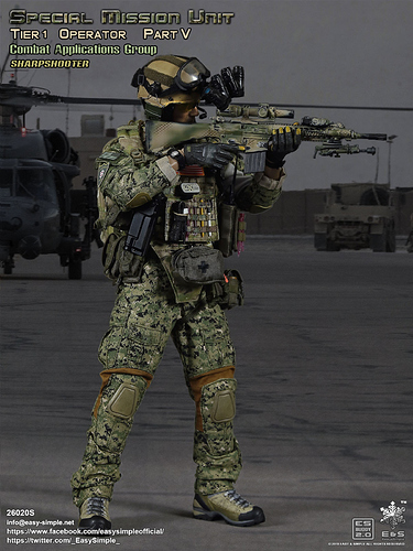 Easy & Simple 26020S Tier 1 SMU Part V Combat Applications Group