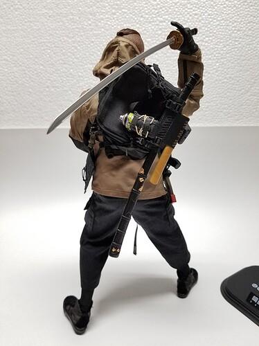 DAMTOYS Sakifuji Craig Samurai 89 s