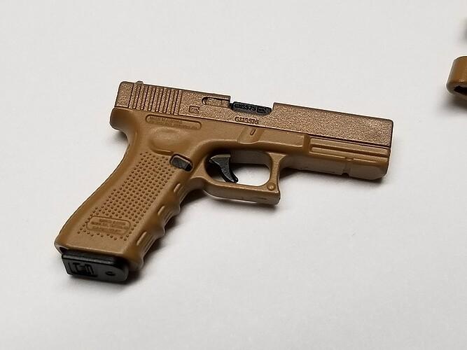 E&S Sniper XM2010 and Glock 13 s