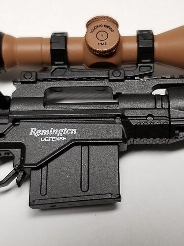 E&S Sniper XM2010 and Glock 6 s