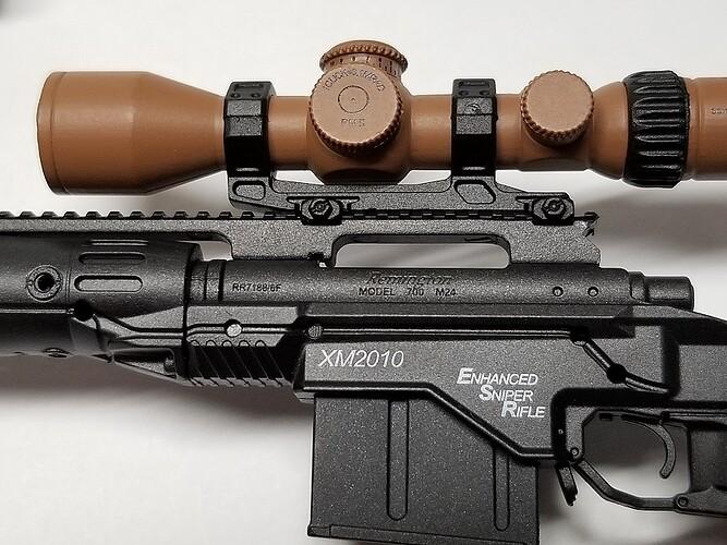 E&S Sniper XM2010 and Glock 3 s