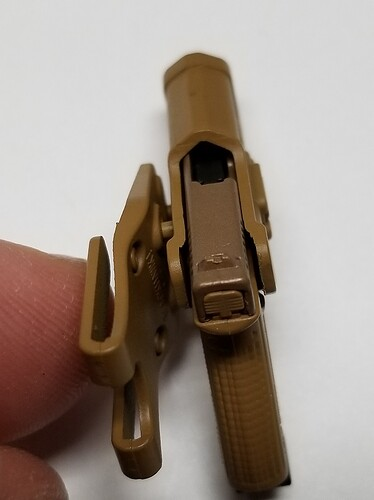 E&S Sniper XM2010 and Glock 15 s
