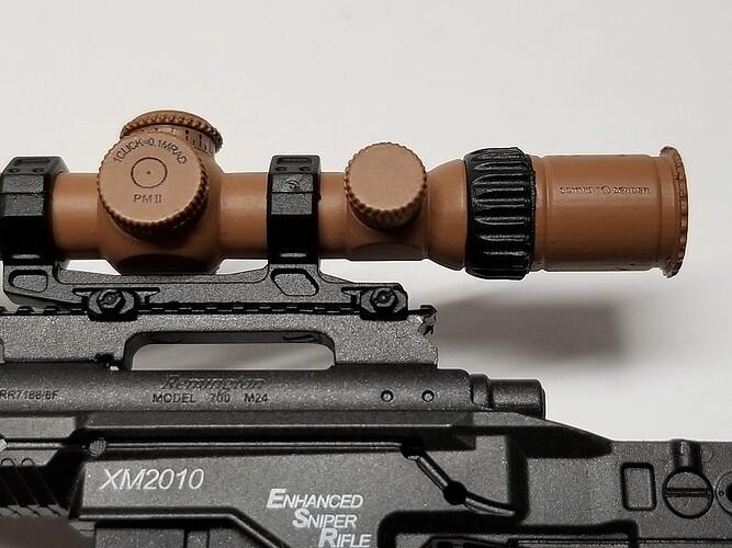 E&S Sniper XM2010 and Glock 5 s