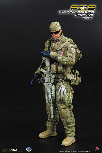 Soldier Story SS038 US Army Future Combat Systems Testing Team TF