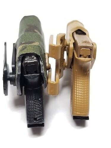 E&S Sniper XM2010 and Glock 16 s
