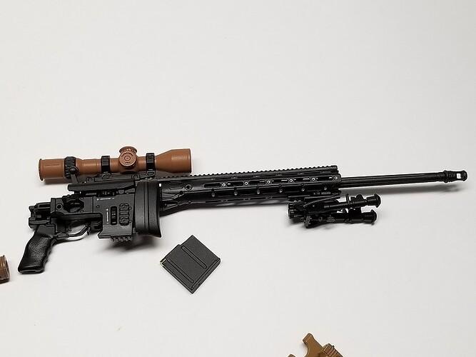 E&S Sniper XM2010 and Glock 7 s