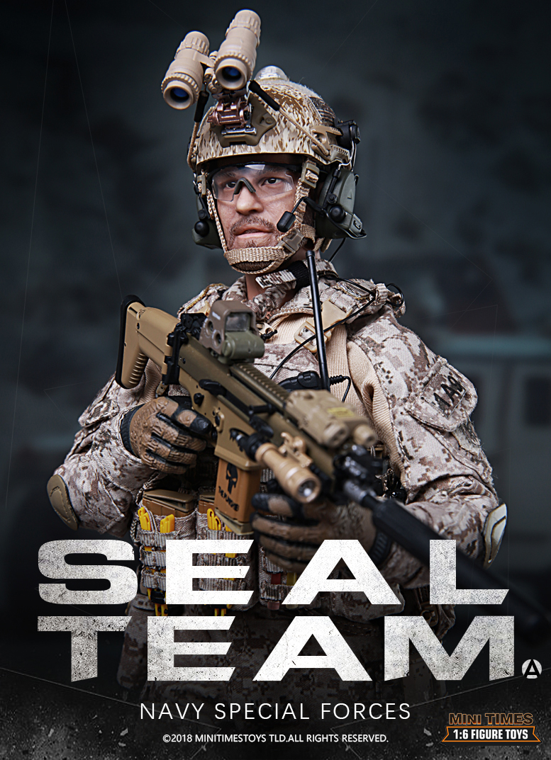 Mini Times M012 Seal Team Navy Special Forces - A - New Releases