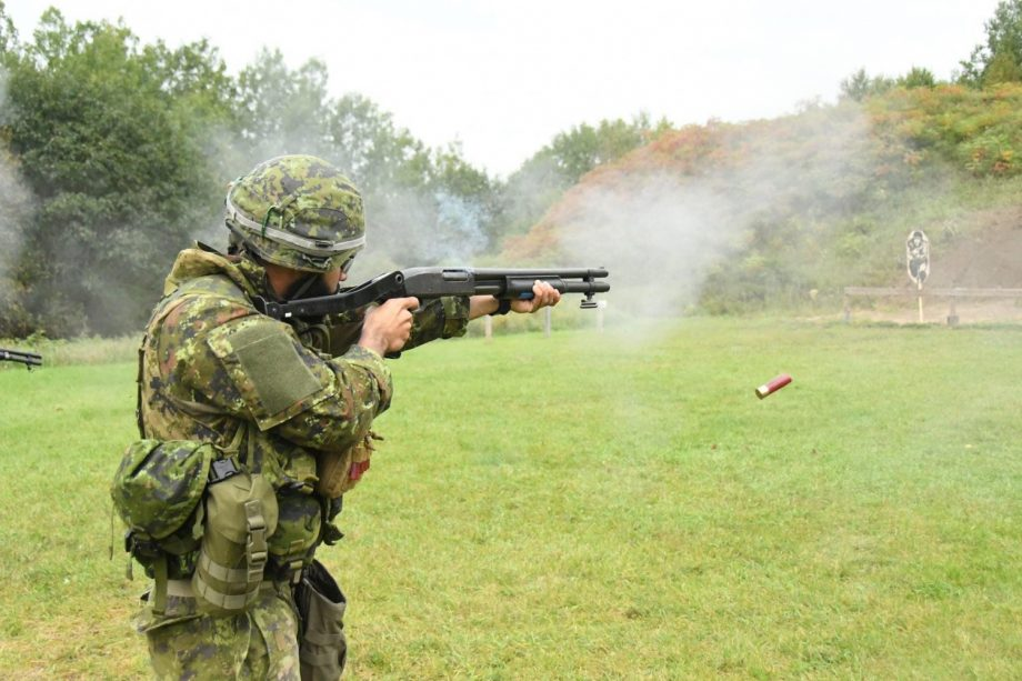 CLIP standing shot at range