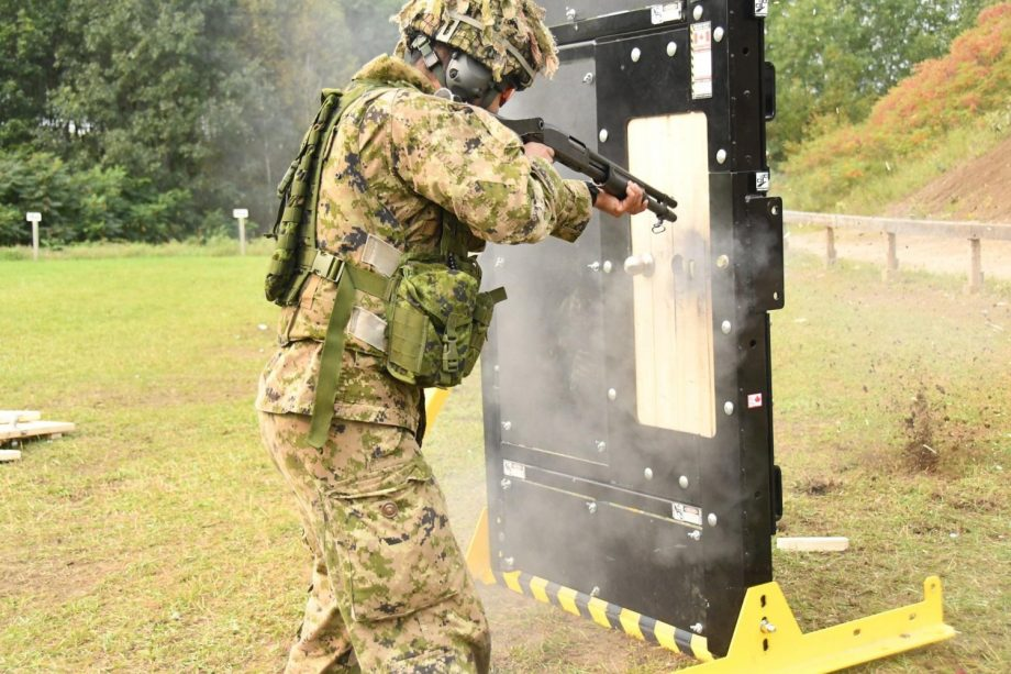 CLIP breaching practice at range