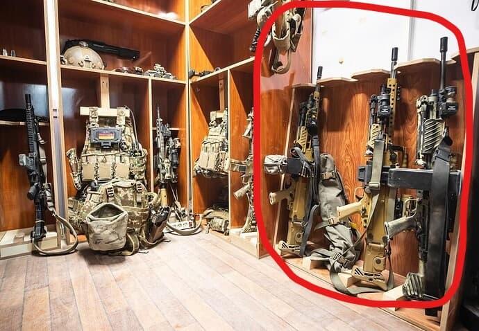 German Kommando Guns