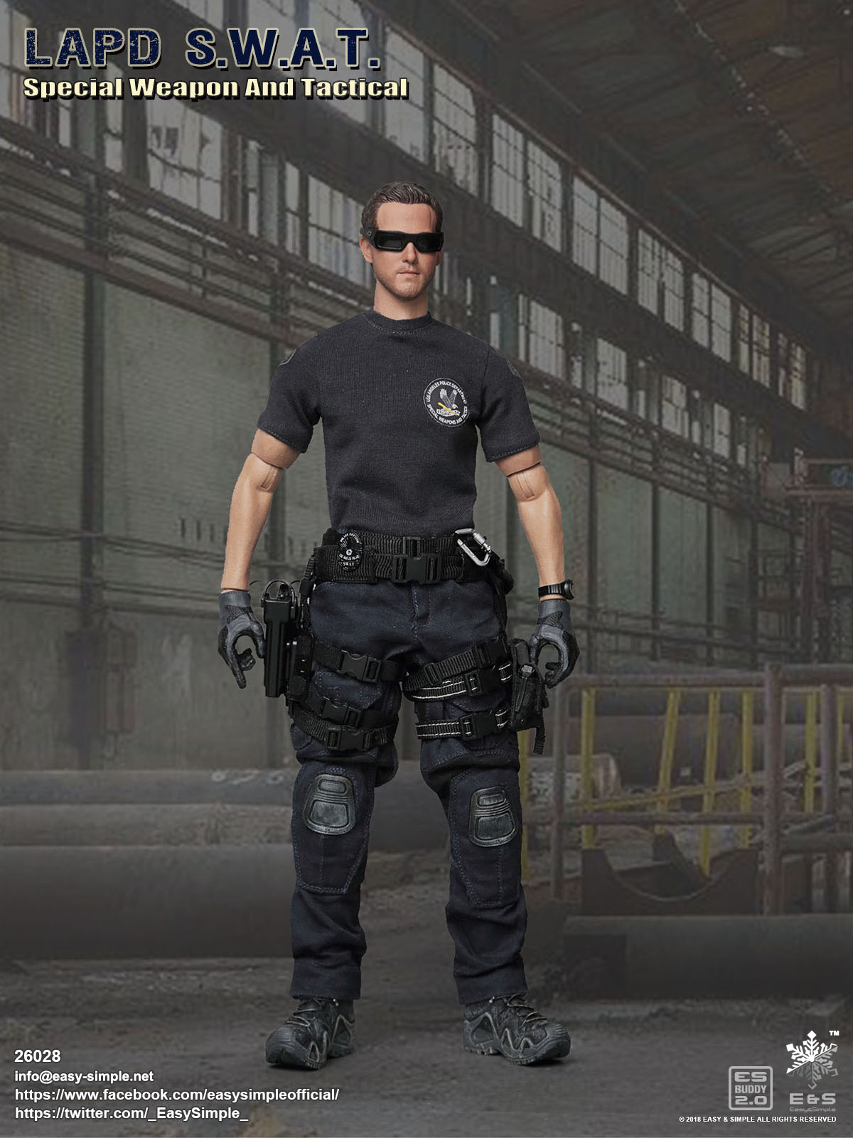 Easy & Simple 26028 LAPD Special Weapon And Technical Police